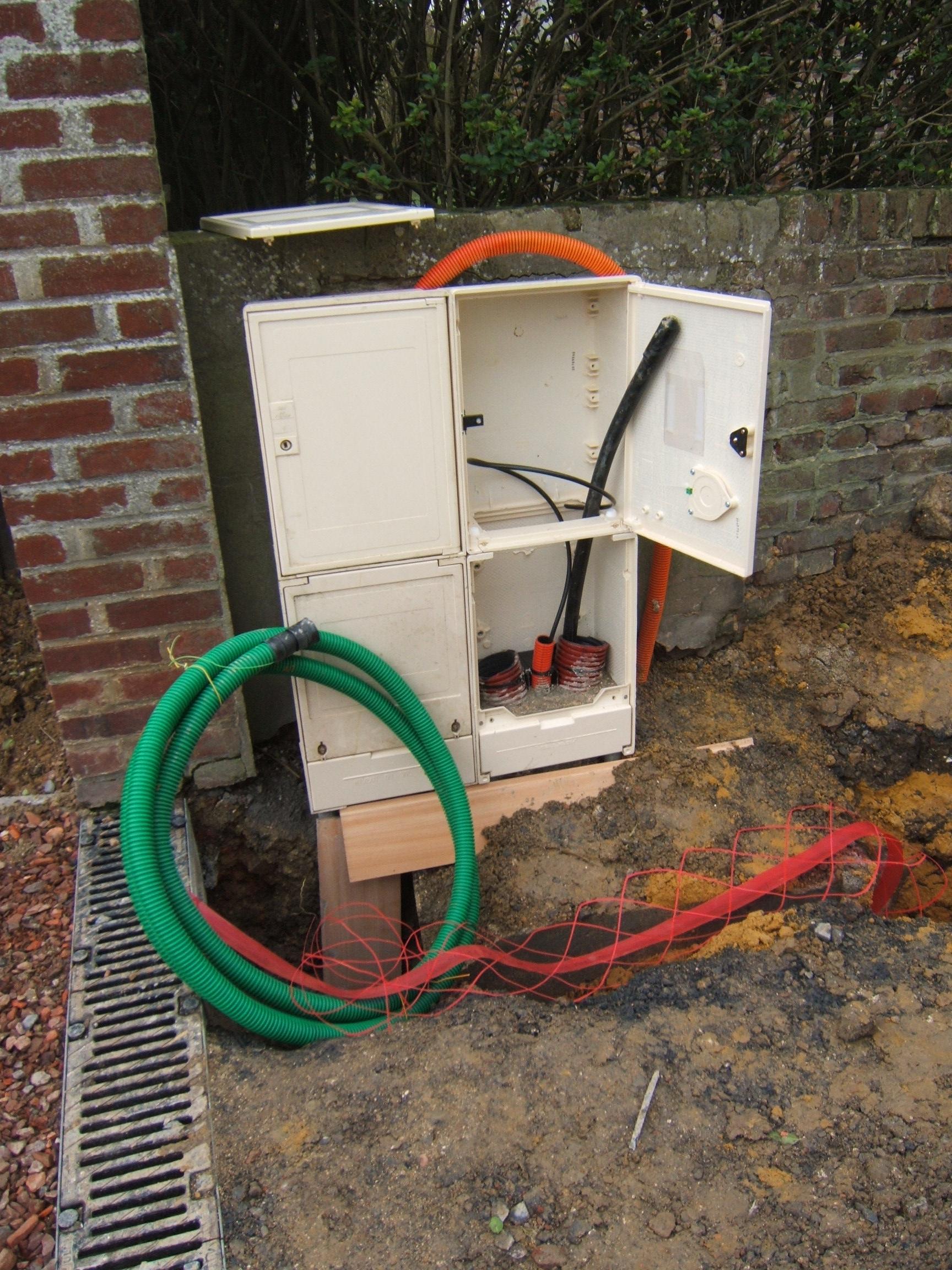 Chantier elec37 - Compteur gaz individuel ...